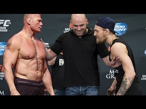 Conor McGregor Will Fight Brock Lesnar In WWE 2017!