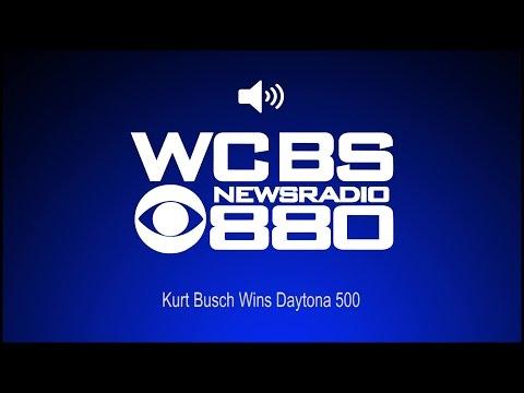 Kurt Busch Wins Daytona 500 (Audio)