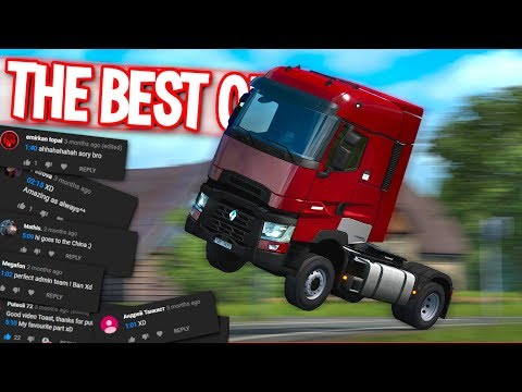 The Best of Funny Moments 1-10 ⭐  + Comment Section! | Euro Truck Simulator 2 Multiplayer