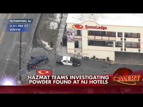 Suspicious Powder Found at Hotels near Super Bowl