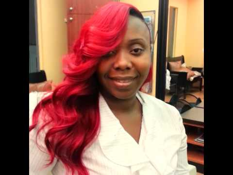 K Michelle Blonde Hair MICHELLE RED HAIR INSPIRED THIS LOOK! - YouTube