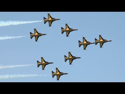 RoKAF Black Eagles 블랙이글스 Singapore Air Show 2014 16.Feb 2014