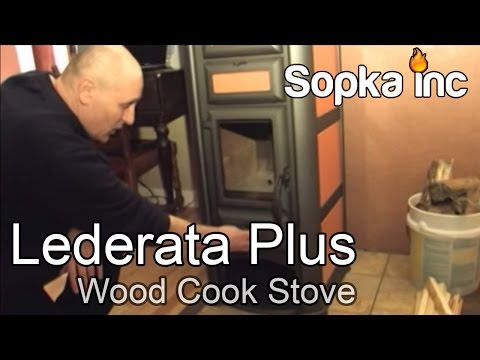 Lederata Plus Wood Cook Stove