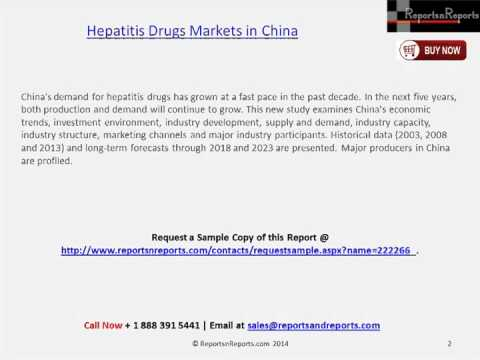 Analysis for Hepatitis Drugs Industry in China