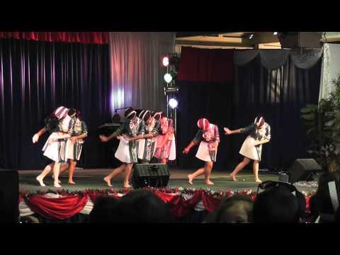 nkauj hmoob hli xiab- (round 3) Fresno Hmong International New Year dance comp. 2012-2013