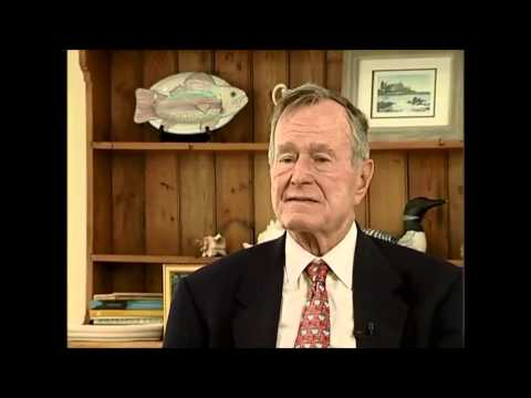 President George H.W. Bush, Interview - June 1, 2007