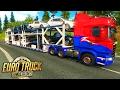 Euro Truck Simulator 2 - CARGA de CARROS BRASILEIROS!!! + G27