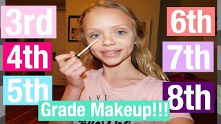 3rd, 4th, 5th, 6th, 7th, and 8th Grade MAKEUP!!