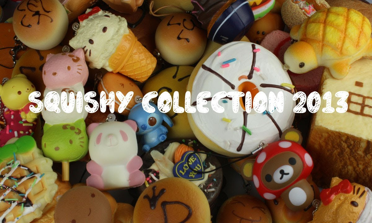 ?Squishy Collection 2013!? - YouTube