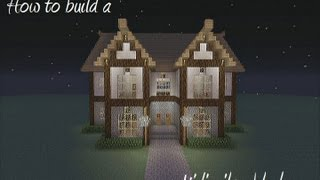 How To Build A Medievil Noble House In Minecraft