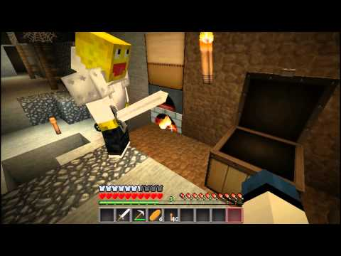 Let´s Play Minecraft 1.2 - Part #005 - Achtung Creeper - WTF?BOOM