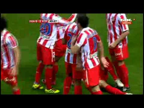 Malaga 0-3 Atletico Madrid | ALL GOLAS