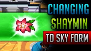 How & Where To Catch/get Shaymin Sky Form In Pokemon