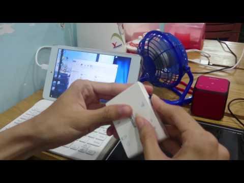 Chép game Đột Kích 2.0 từ Laptop sang thẻ nhớ và Chơi game Đột Kích 2.0 trên Tablet Hi8 Pro.