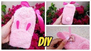 How To Make a Cute Bunny Phone Bag/ Hướng dẫn làm túi đựng điện thoại thỏ siêu xinh