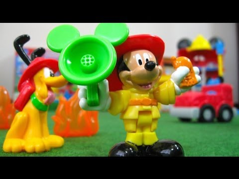 Mickey Mouse Funny Firehouse Clubhouse Disney Junior Fisher-Price