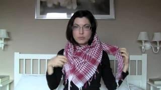 Como usar bufandas, pañuelos, fulares