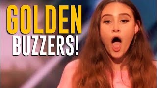 ALL 5 GOLDEN BUZZERS on America's Got Talent 2018!!!