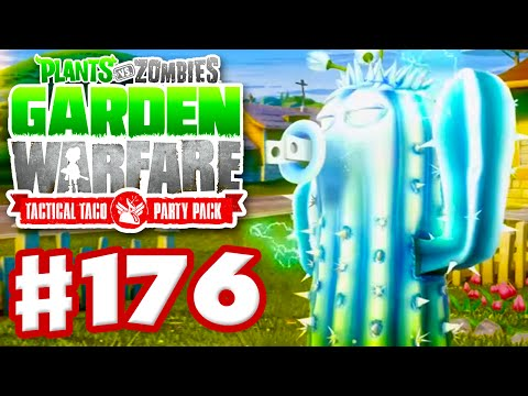 Plants vs. Zombies: Garden Warfare - Gameplay Walkthrough Part 176 - Solo Power Cactus Attempt