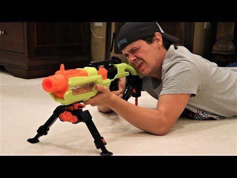 Nerf War:  New Guns, New Problems