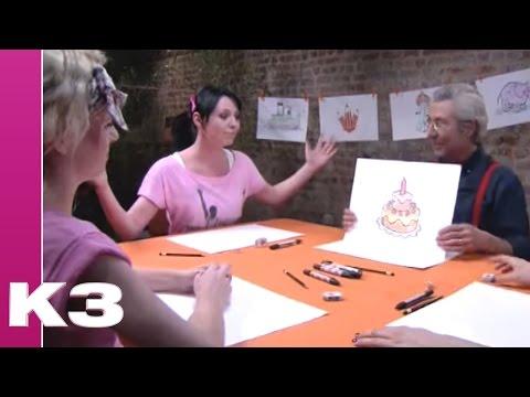 K3 De Wereld Van K3 Tekenen Verjaardagstaart Youtube