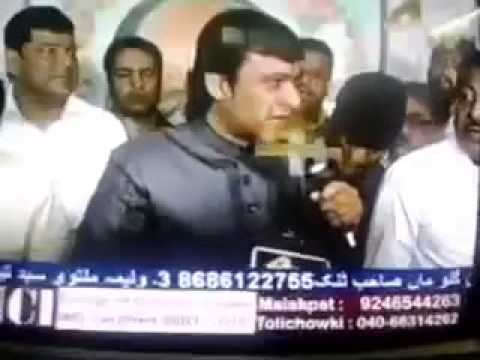Indian Muslim leader  akbaruddin owaisi speech against Hindus and India