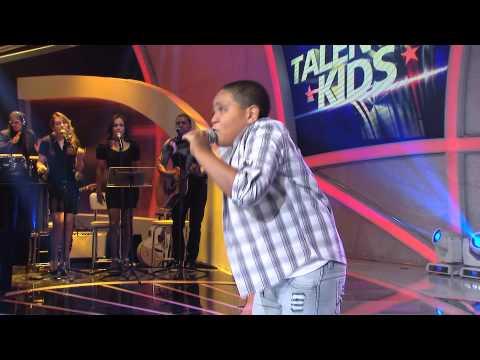 Programa Raul Gil - Silas Magalhães (Arde outra vez) - Jovens Talentos Kids #JT2013