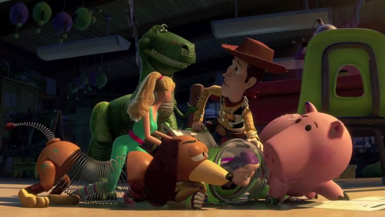 Toy story 3 rex hamm youtube - Cochon de toy story ...