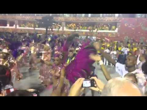 Carnaval Rio 2014 - Rainha e Bateria