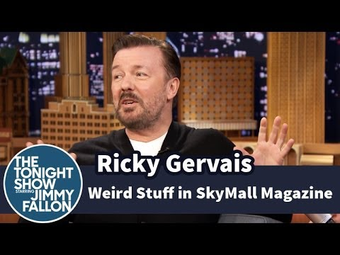 Ricky Gervais and Jimmy Find Weird Stuff in SkyMall Magazine