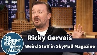 Ricky Gervais and Jimmy Fallon Bond over the Rediculous SkyMall