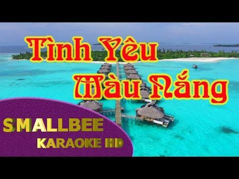Tình Yêu Màu Nắng karaoke