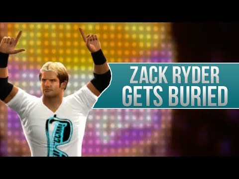 WWE 2K14 Story - Zack Ryder Gets Buried (Start/Finish)