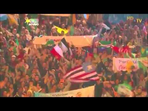 A Esperança entre Nós - Final da Via Sacra JMJ Rio 2013