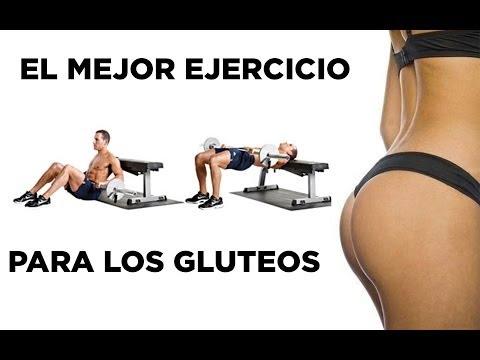El mejor ejercicio para los glúteos - Empuje de cadera