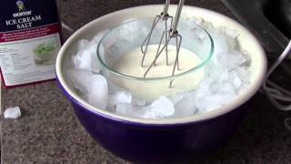 Make Home-made Ice Cream Without an Ice Cream Machine