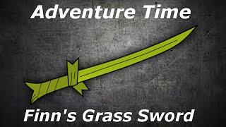 Making Finn's Grass Sword - GC