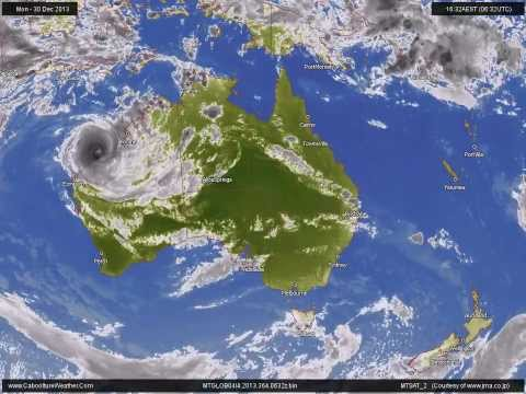 Tropical Cyclone Christine (Western Australia) 2013