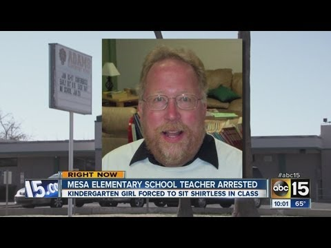 Mesa elementary school teacher arrested
