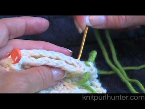 Horizontal Seam (Overcast Stitch) - YouTube