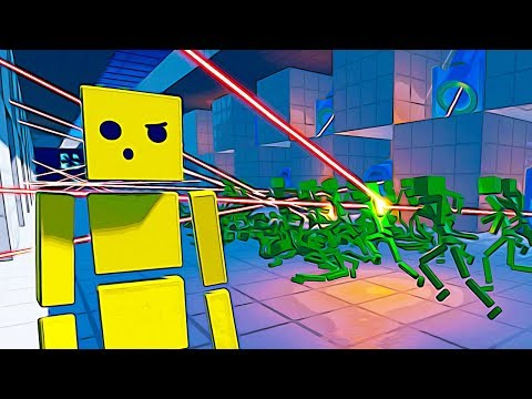 EVIL GENIUS Makes a Laser Tunnel Obstacle Course of DOOM - Fun with Ragdolls Gameplay