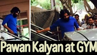 Pawan Kalyan After Gym At Bangalore - Exclusive