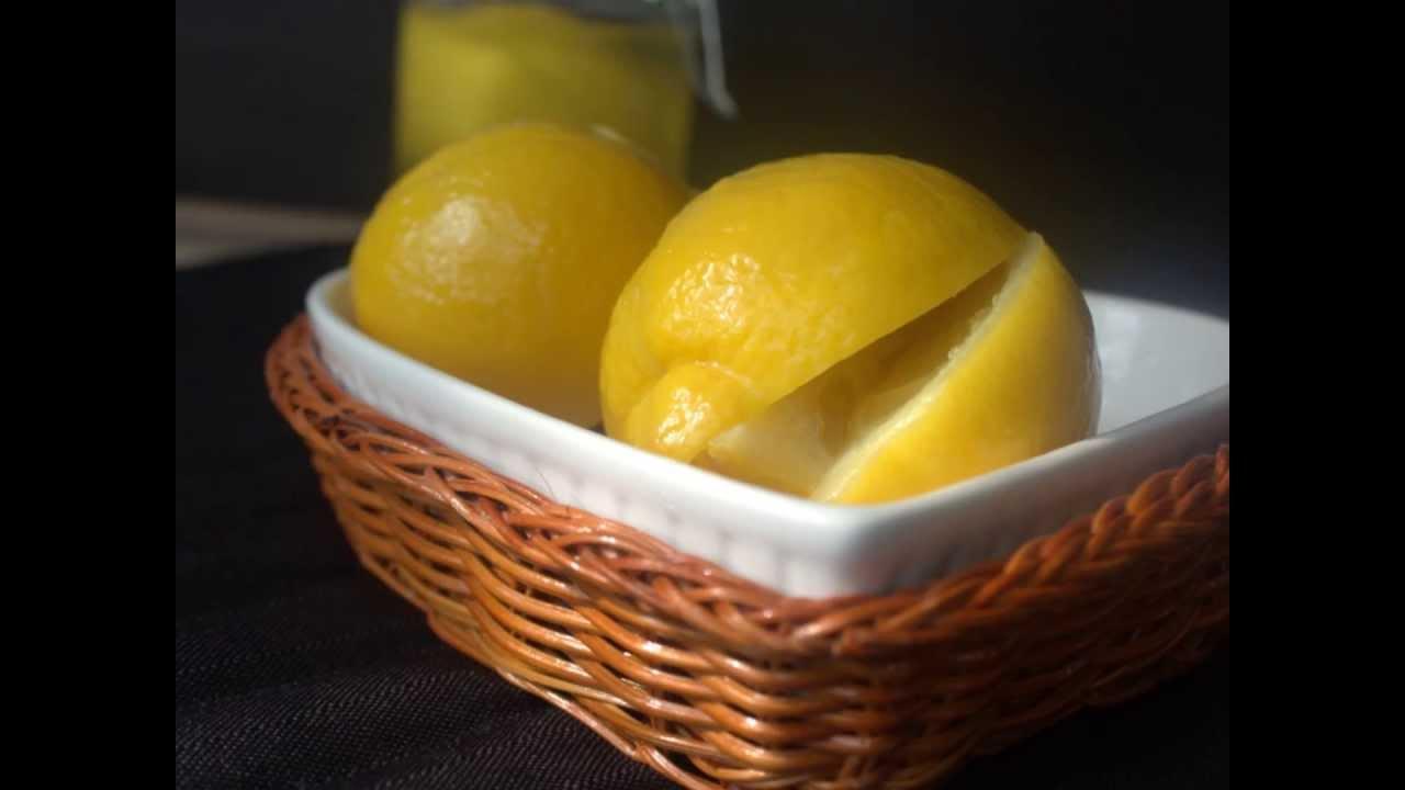 comment preparer le citron confit amour de cuisine cuisine marocaine youtube. Black Bedroom Furniture Sets. Home Design Ideas
