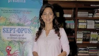Yesteryear's Beauty Juhi Chawla At A Book Launch