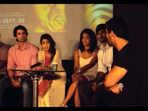 Genelia D'Souza, Sandhya Mridul, Vidyut Jamwal and John Abraham at the Force press conference