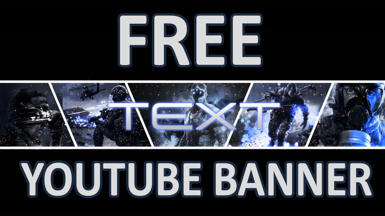 FREE YOUTUBE GAMING BANNER [PSD File] - YouTube