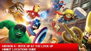 Guide: Lego Marvel Superheroes Rock Up At The Lock Up