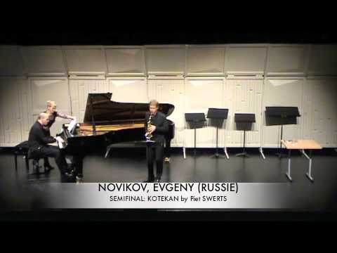 NOVIKOV, EVGENY (RUSSIE) kotekan Piet SWERTS