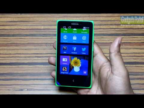 Nokia X Unboxing & Hands on Review by Gadgets Portal