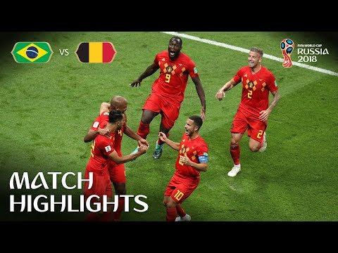 Brazil v Belgium - 1;2